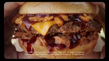Hardee's Memphis BBQ Thickburger TV Spot, 'The Lick' Song by Branchez - Thumbnail 8