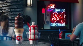 Dairy Queen Two for $4 Treat Nights TV Spot, 'Make a Date'