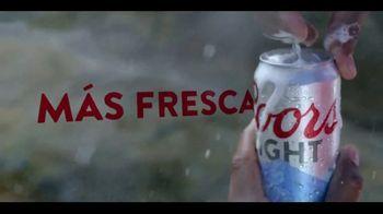 Coors Light TV Spot, 'Rocky Coast' [Spanish] - Thumbnail 7