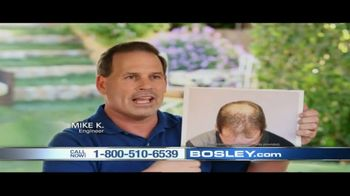 Bosley TV Spot, 'Today's Bosley: Mike'