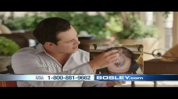Bosley TV Spot, 'Today's Bosley: Grant' - 20 commercial airings