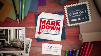 La-Z-Boy Markdown Madness TV Spot, 'Closeouts and Overstocks' - Thumbnail 4