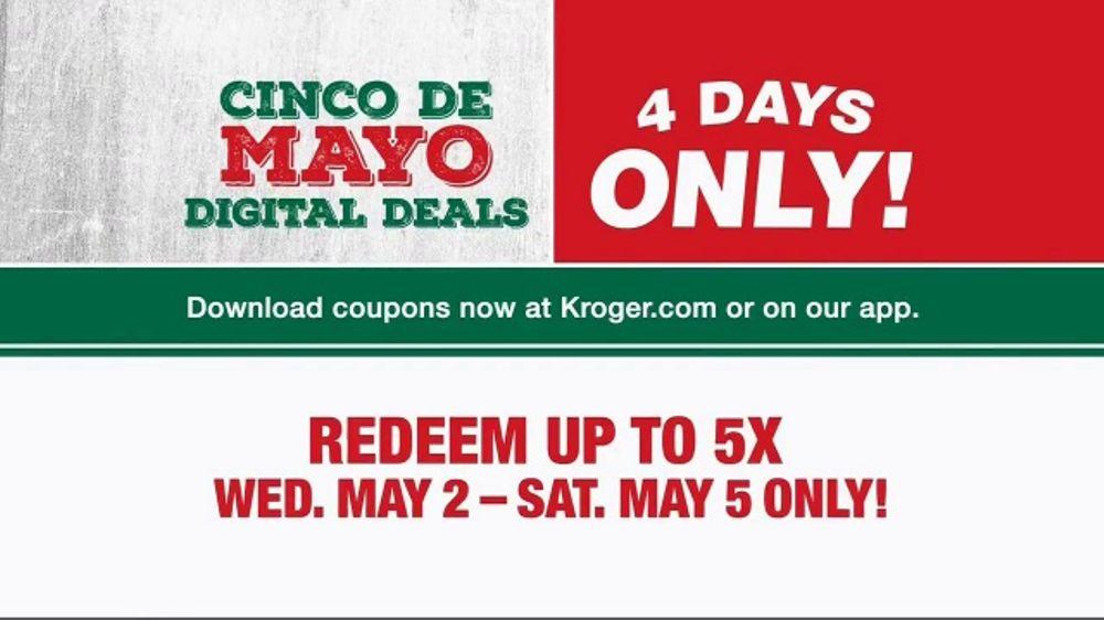 The Kroger Company Cinco de Mayo Digital Sale TV Commercial, 'Avocados'
