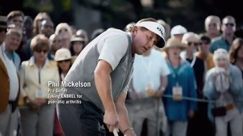 Enbrel TV Spot, 'My Dad's Pain' Featuring Phil Mickelson - Thumbnail 1