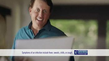 Enbrel TV Spot, 'My Dad's Pain' Featuring Phil Mickelson - Thumbnail 8