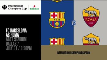 International Champions Cup TV Spot, 'Legendary: FC Barcelona vs. AS Roma' - Thumbnail 10
