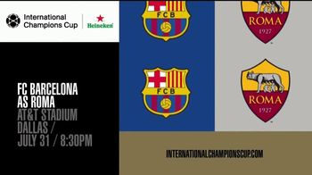 International Champions Cup TV Spot, 'Legendary: FC Barcelona vs. AS Roma' - Thumbnail 9