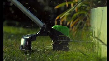 GreenWorks Pro 60-Volt Mower TV Spot, 'Lead the Charge'