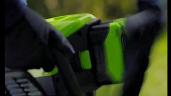 GreenWorks Pro 60-Volt Mower TV Spot, 'Lead the Charge' - Thumbnail 5