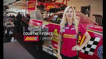 E3 Spark Plugs TV Spot, 'Advance Auto Parts Car' Featuring Courtney Force - Thumbnail 2