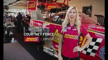 E3 Spark Plugs TV Spot, 'Advance Auto Parts Car' Featuring Courtney Force - Thumbnail 3