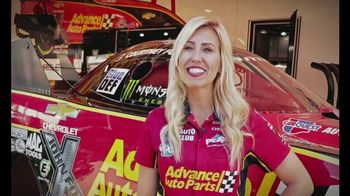 E3 Spark Plugs TV Spot, 'Advance Auto Parts Car' Featuring Courtney Force - Thumbnail 4