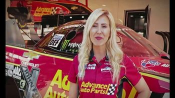 E3 Spark Plugs TV Spot, 'Advance Auto Parts Car' Featuring Courtney Force - Thumbnail 5
