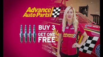 E3 Spark Plugs TV Spot, 'Advance Auto Parts Car' Featuring Courtney Force - Thumbnail 8