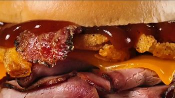 Arby's Bourbon BBQ Sandwiches TV Spot, 'Hole in the Wall' - Thumbnail 4