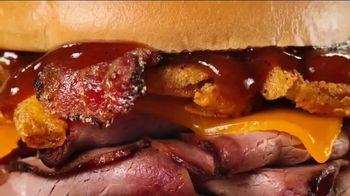 Arby's Bourbon BBQ Sandwiches TV Spot, 'Hole in the Wall' - Thumbnail 6