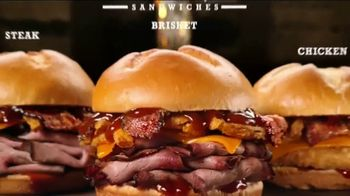 Arby's Bourbon BBQ Sandwiches TV Spot, 'Hole in the Wall' - Thumbnail 7