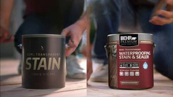BEHR Paint TV Spot, 'Two Stains, Four Seasons' - Thumbnail 2