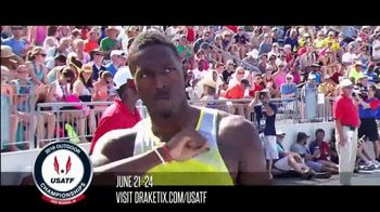 USA Track & Field, Inc. TV Spot, '2018 Outdoor Championships' - 56 commercial airings