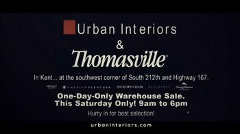 Urban Interiors & Thomasville One-Day-Only Warehouse Sale TV Spot, 'Early' - Thumbnail 10