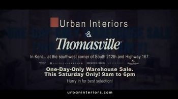 Urban Interiors & Thomasville One-Day-Only Warehouse Sale TV Spot, 'Early' - Thumbnail 9