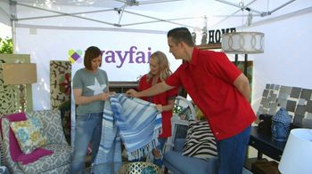 Wayfair TV Spot, 'Wayfair Tent 903 Clip 2'