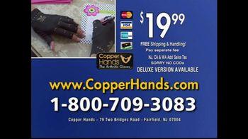 Copper Hands Arthritis Gloves TV Spot, 'Perfect Compression' - Thumbnail 10