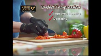 Copper Hands Arthritis Gloves TV Spot, 'Perfect Compression' - Thumbnail 2