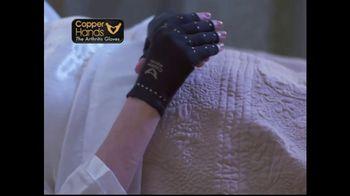 Copper Hands Arthritis Gloves TV Spot, 'Perfect Compression' - Thumbnail 4