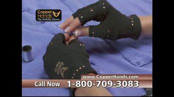 Copper Hands Arthritis Gloves TV Spot, 'Perfect Compression' - Thumbnail 8