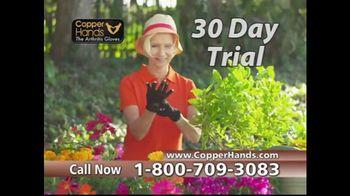 Copper Hands Arthritis Gloves TV Spot, 'Perfect Compression' - Thumbnail 9