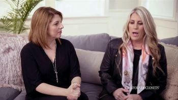 California Closets TV Spot, 'Nicole and Lisa' - Thumbnail 1