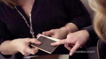 California Closets TV Spot, 'Nicole and Lisa' - Thumbnail 4