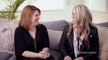 California Closets TV Spot, 'Nicole and Lisa' - Thumbnail 8