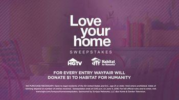Wayfair TV Spot, 'HGTV 10 May' - Thumbnail 4