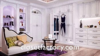 Closet Factory TV Spot, 'Custom Designs' - Thumbnail 3