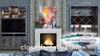 Closet Factory TV Spot, 'Custom Designs' - Thumbnail 5