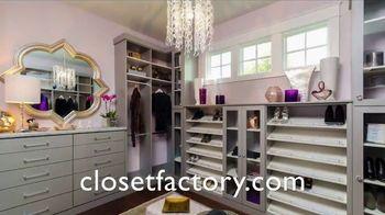 Closet Factory TV Spot, 'Custom Designs' - Thumbnail 7