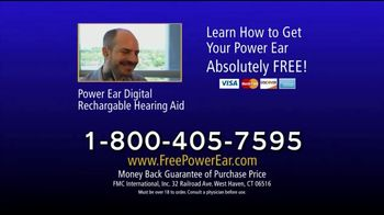 Power Ear TV Spot, 'The Frustration of Hearing Loss' - Thumbnail 9