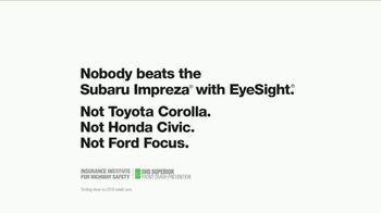Subaru Impreza TV Spot, 'Rewind' - Thumbnail 9