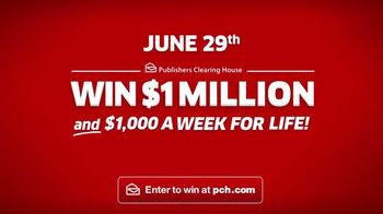 Publishers Clearing House TV Spot, 'June 29: $1,000 a Week for Life' - Thumbnail 10