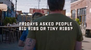 TGI Friday's Big Ribs TV Spot, 'Big Ribs or Tiny Ribs?' - Thumbnail 2