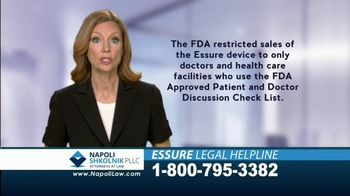 Napoli Shkolnik PLLC TV Spot, '2018 Essure Legal Helpline' - Thumbnail 2