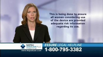 Napoli Shkolnik PLLC TV Spot, '2018 Essure Legal Helpline' - Thumbnail 4