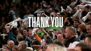 NBA TV Spot, 'Thank You' - Thumbnail 9