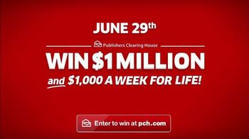 Publishers Clearing House TV Spot, 'June 29: Just the Beginning' - Thumbnail 8