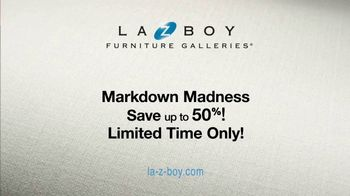 La-Z-Boy Mark Down Madness TV Spot, 'Closeouts and Overstocks' - Thumbnail 6