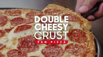 Pizza Hut Double Cheesy Crust Pan Pizza TV Spot, 'Celebrating 60 Years' - Thumbnail 5