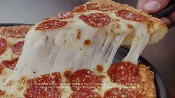 Pizza Hut Double Cheesy Crust Pan Pizza TV Spot, 'Celebrating 60 Years' - Thumbnail 7