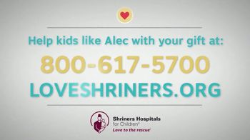 Shriners Hospitals for Children TV Spot, 'Imagine: Alec' - Thumbnail 9